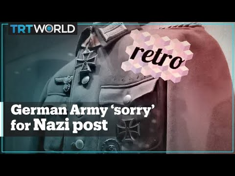 German Army Apologises Over Nazi Uniform Post