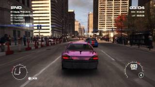 GRID 2 PC Multiplayer Race Gameplay: Tier 1 Upgraded Nissan Silvia S15 Spec-R Aero in Chicago