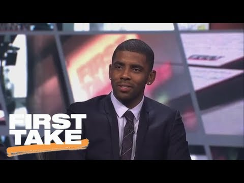 Best of Kyrie Irving's exclusive First Take interview after Cavs-Celtics trade | First Take | ESPN