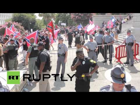 USA: New Black Panther, KKK protesters hold separate S. Carolina rallies, arrests made