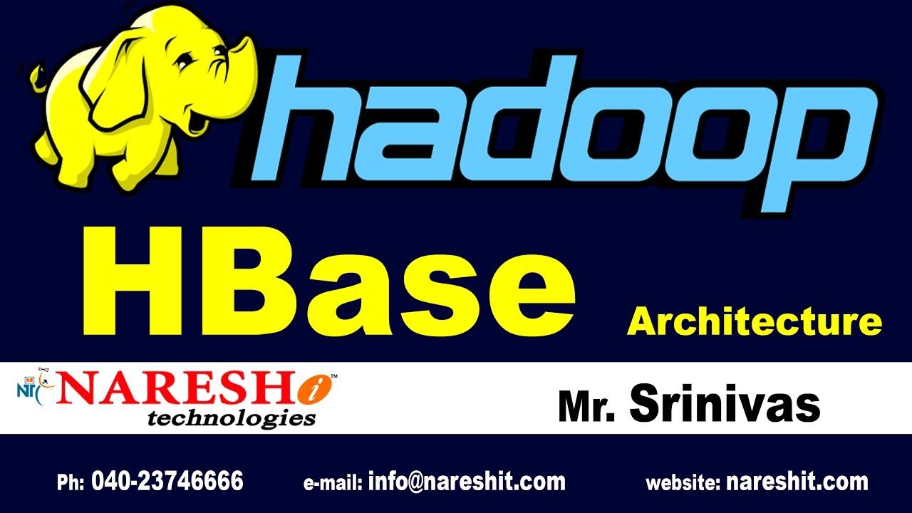 HBase Architecture Hadoop Tutorials YouTube - Hbase architecture