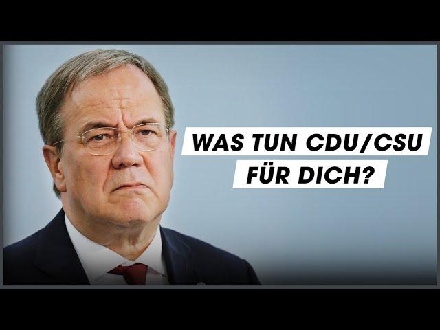 CDU/CSU-Wahlprogramm: Das wollen sie für Menschen unter 30
