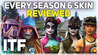 Every Fortnite Season 6 Skin REVIEWED! (Fortnite Battle Royale)