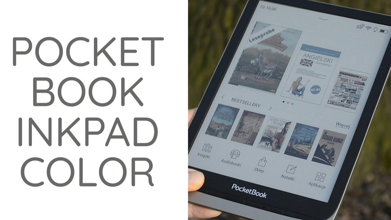 Kolejny czytnik z kolorowym ekranem! Czy warto kupić PocketBook InkPad Color?