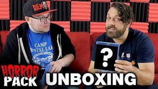 February 2018 Horror Pack Unboxing! - Horror Movie Subscription Box
