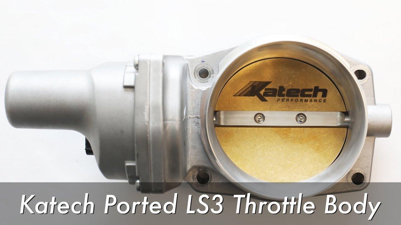 Katech CNC-ported LS3/LS7/L76/L99 Throttle Body