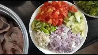 అత్తమ్మ  చేసిన నెల్లూరు స్టైల్  చేపలపులుసు 👌👌👌॥ Tasty  Nelloe style fish curry ॥
