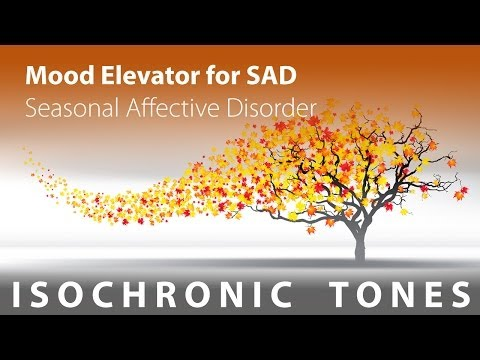 Mood Elevator For Seasonal Affective Disorder (SAD) - Isochronic Tones, Hybrid