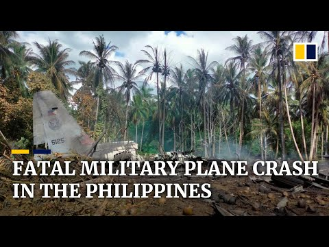 Military plane crash kills 47, injures 49 others in the southern Philippines