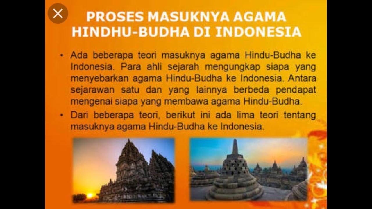 Sejarah Masuknya Kebudayaan Dan Agama Hindu Budha Di Indonesia Youtube
