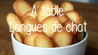 A Table : Langues De Chat