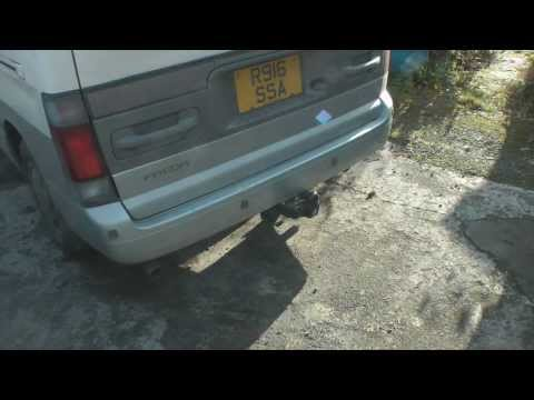vw caddy tow bar fitting instructions