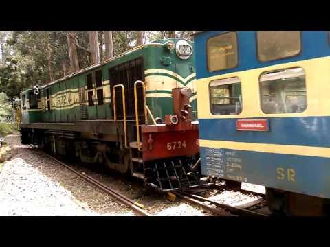 Nilgiri Mountain Rail between Coonoor and Ooty