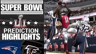 Patriots vs. Falcons   Super Bowl LI Game Highlights Madden 17
