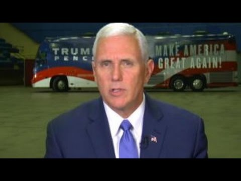 Mike Pence on Syria and the state of the campaign