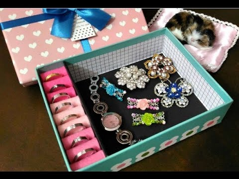 DIY #122   Express Accessories Gift Box ♥ - YouTube