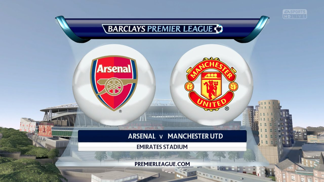 Fifa 16 arsenal vs manchester united emirates stadium youtube manchester united emirates stadium youtube voltagebd Image collections