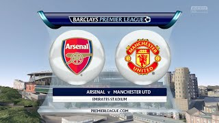 FIFA 16 - Arsenal vs. Manchester United @ Emirates Stadium