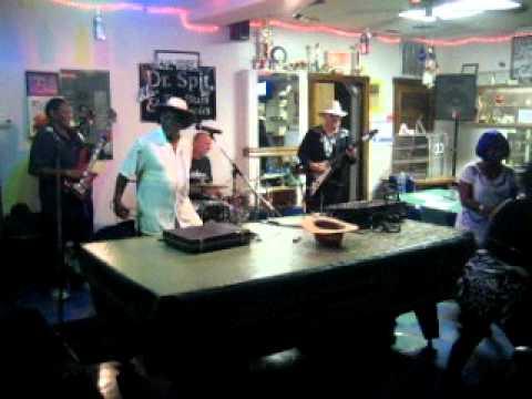 Dr. Spit and the Blues Mechanics at Southern Boys Cafe, Omaha, Nebraska
