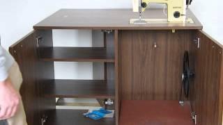 šicí stroj - renovace