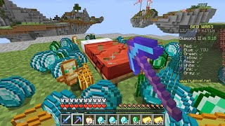 Minecraft UHC but its also Bedwars...?