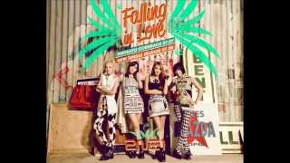 2NE1 Falling In Love Audio