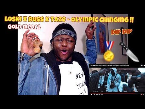 Gold Medals In Chinging | Loski X Russ X Taze - Olympic Chinging (B SIDE DISS) - REACTION