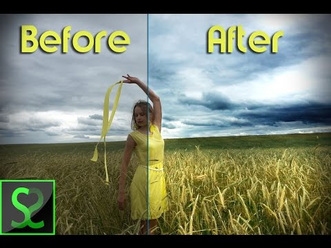 How to enhance colors on fade photos | Photoshop tutorial ...
