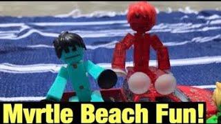Myrtle Beach Fun! | #Stikbot | #StikbotContest