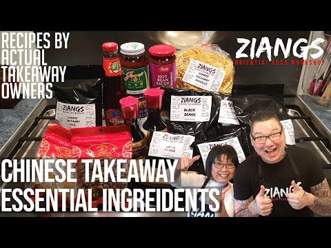 Ziangs Chinese Takeaway Must Have Ingredients, The Essentials