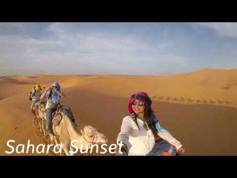 3 Days 2 Nights Sahara Desert trip, Merzouga, Morocco  Go Pro Hero4 Silver