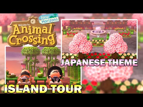 You Need To See This Japanese Themed 5 Star Island In Animal Crossing New Horizons Youtube