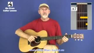Finger Style Blues Guitar Lessons - Blind Blake's Guitar Tips