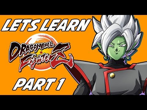 Relearning DBZF With Zamasu and Vegeto! Dragon Ball Fighterz Arcade Mode Part 1