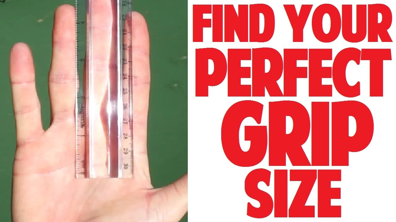 How To Measure Tennis Grip Size Top Speed Tennis Youtube