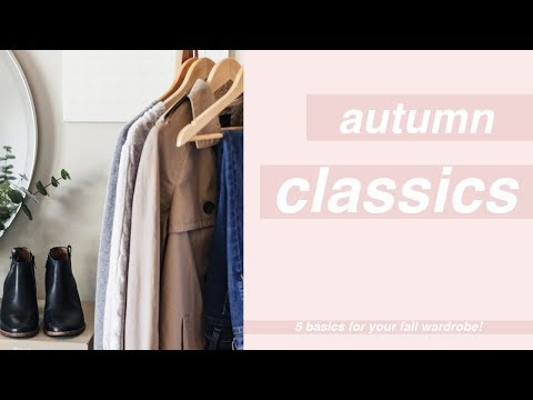 5 Classic Fall Capsule Wardrobe Basics | Chic Éthique