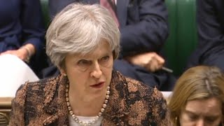 Prime minister Theresa May tells parliament it is .highly likely. that Moscow ordered the poisoning of former spy Sergei Skripal and his daughter.