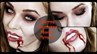 Vampire Halloween  Makeup Tutorial | Eskay Beauty Thumbnail