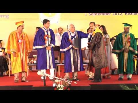 first convocation central university of rajasthan