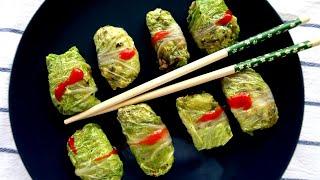 Голубцы с китайской капустой | Постные рецепты