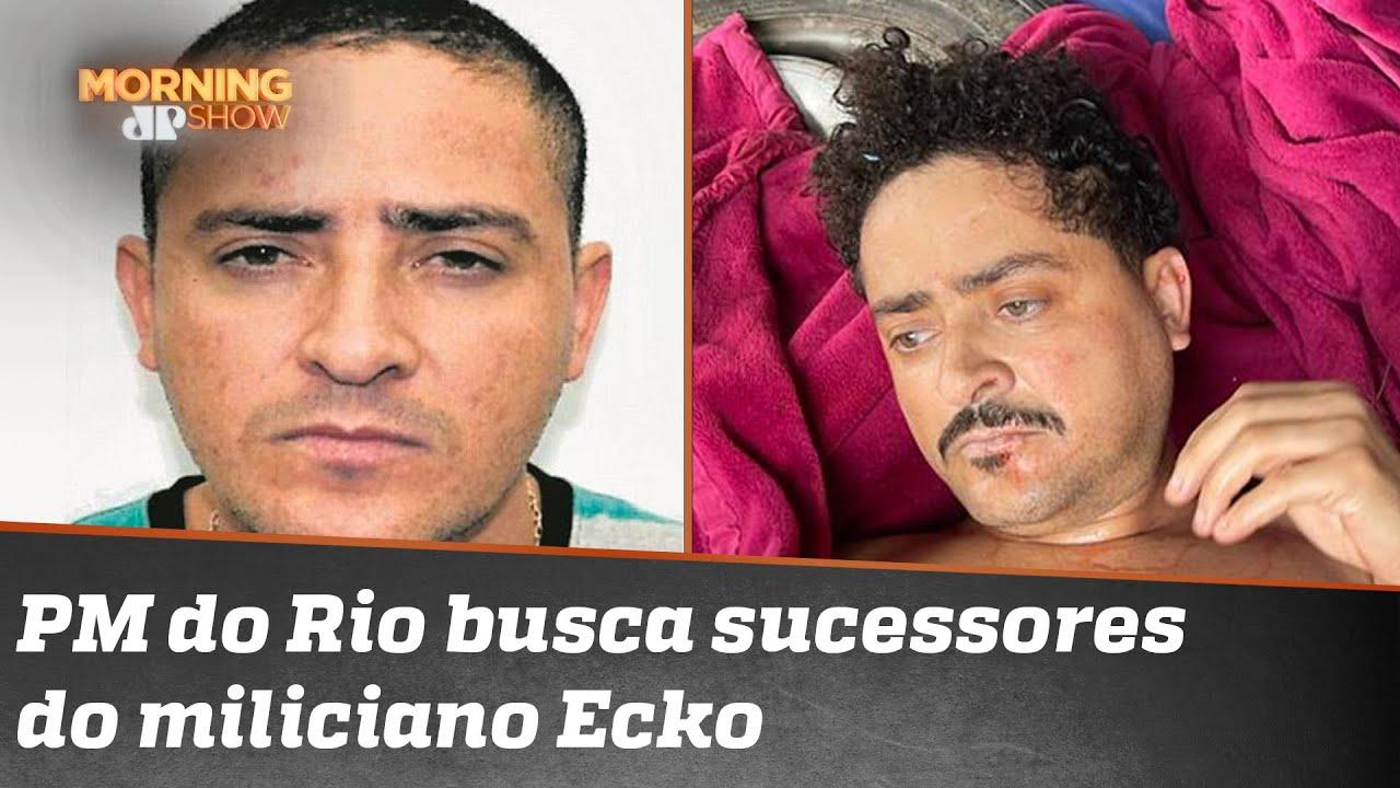 Rio de Janeiro busca sucessores de Ecko, maior miliciano da história