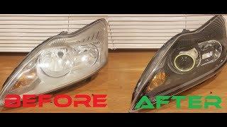Ford Focus Led Tasarım Far Nasıl Yapılır. How To Make Ford Focus Led Design Headlight