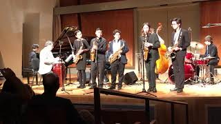 Colburn Performance: alto saxophone jazz