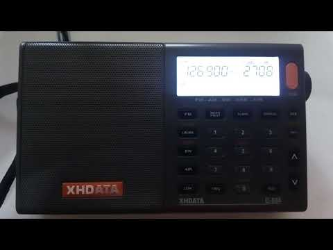 XHDATA D-808 air band Moscow control