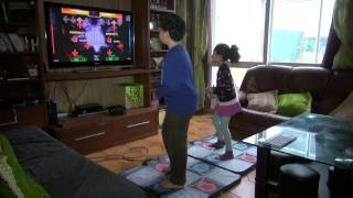 stepmania DanceDanceRevolution jeux et tapis de dance par Adam et Neda d'Evry 91 song