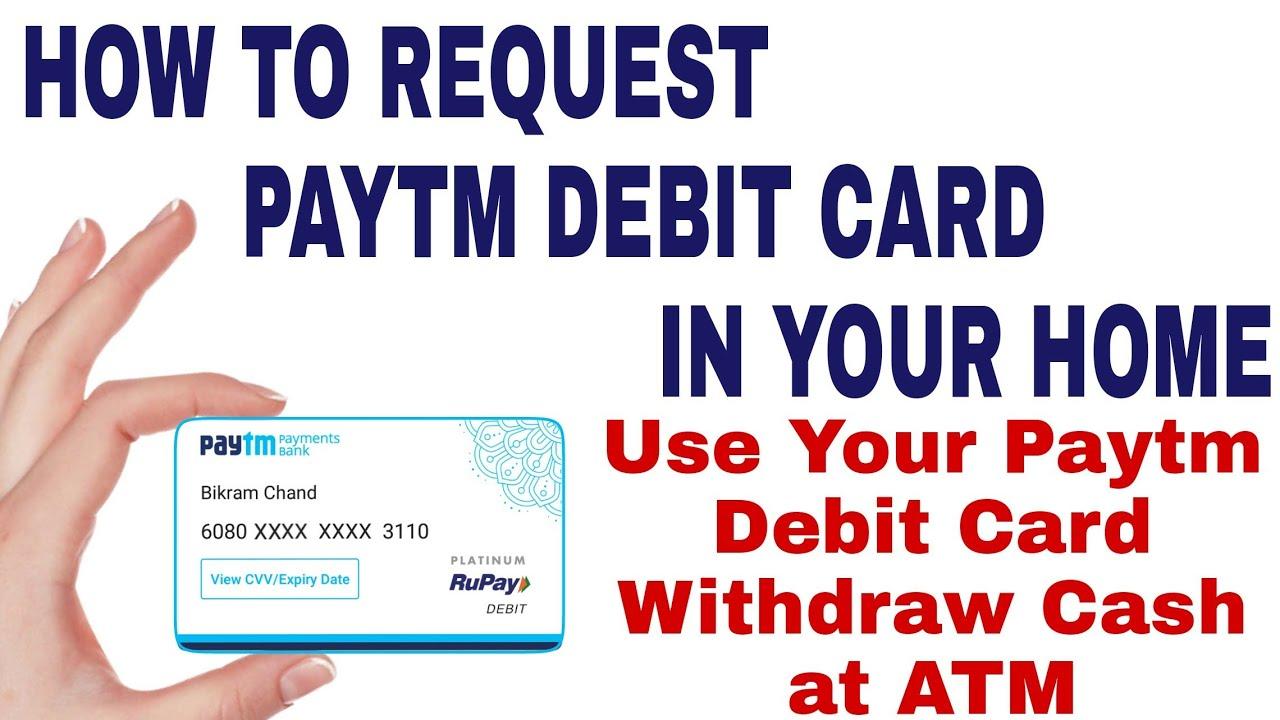 How to apply debit card