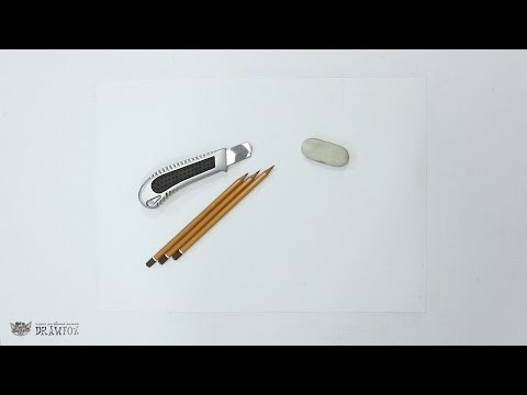 Уроки рисования карандашом для начинающих как научиться