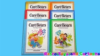 Care Bears Care Bears Books Parker Brothers Commercial Retro Toys and Cartoons