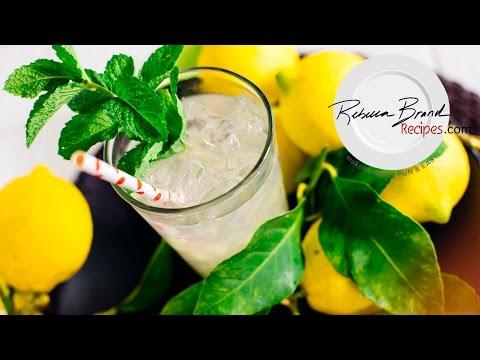 How to Make Fresh Lemonade - One Glass Recipe