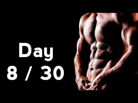 30 Days Six Pack Abs Workout Program Day: 8/30